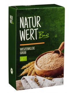 NaturWert Bio Weizenkleie grob
