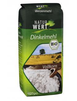 NaturWert Bio Dinkelmehl Vollkorn (1 kg) - 4250286167034