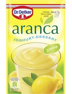 Dr. Oetker Aranca Joghurt-Dessert Zitrone