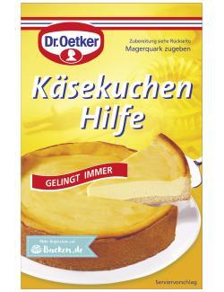 Dr. Oetker Käsekuchen Hilfe