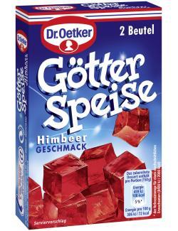 Dr. Oetker Götterspeise Himbeer Geschmack