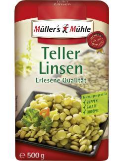 Müller's Mühle Teller-Linsen (500 g) - 4000286200848