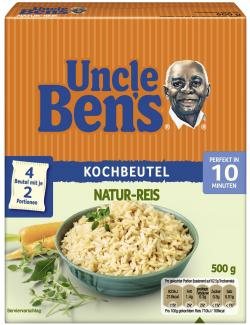 Uncle Ben's Natur-Reis (500 g) - 5410673059000