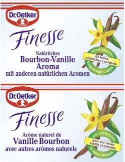 Dr. Oetker Finesse Natürliches Bourbon-Vanille Aroma