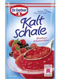 Dr. Oetker Kaltschale ohne Kochen Himbeer-Johannisbeer - 4000521364205