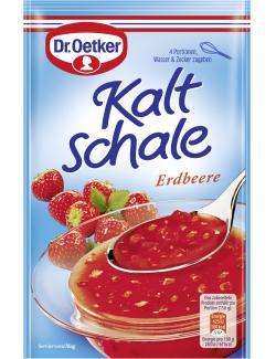 Dr. Oetker Kaltschale ohne Kochen Erdbeer (52 g) - 4000521364700