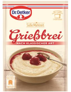 Dr. Oetker Süße Mahlzeit Grießbrei nach klassischer Art