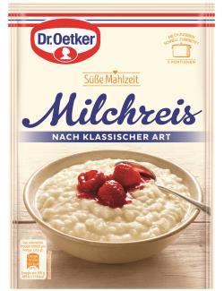 Dr. Oetker Süße Mahlzeit Milchreis nach klassischer Art (125 g) - 4000521770006