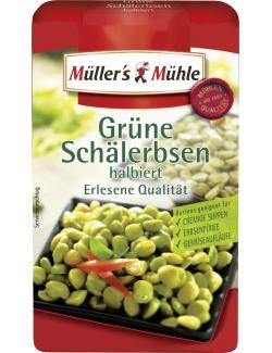 Müller's Mühle Grüne Schälerbsen halbiert