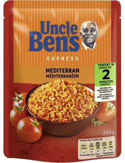 Uncle Ben's Express Langkorn-Reis mediterran