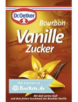 Dr. Oetker Bourbon Vanille Zucker