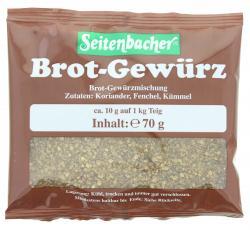 Seitenbacher Brotgewürz (70 g) - 4008391022003
