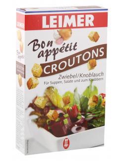 Leimer Croutons Zwiebel & Knoblauch (100 g) - 4000186039104