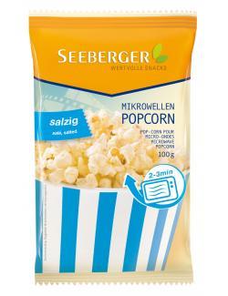 Seeberger Mikrowellen Popcorn salzig (100 g) - 4008258527009