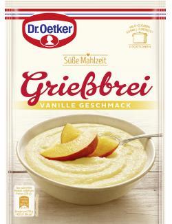 Dr. Oetker Süße Mahlzeit Grießbrei Vanille-Geschmack (90 g) - 4000521771102