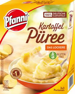 Pfanni Kartoffel Püree besonders locker (3 x 3 por) - 4032600122055