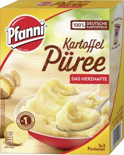 Pfanni Kartoffel Püree mit herzhaftem Geschmack (243 g) - 4000400124968