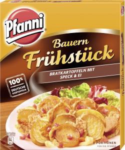 Bild für Pfanni Bauernfrühstück Bratkartoffeln mit Speck & Ei