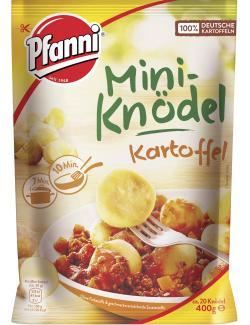 Pfanni Mini-Knödel Kartoffel
