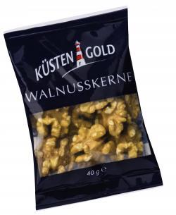 Küstengold Walnusskerne (40 g) - 4250426208726