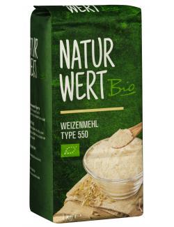 NaturWert Bio Weizenmehl Type 550 (1 kg) - 4250286167003
