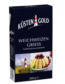 Küstengold Weichweizengrieß (500 g) - 4250426200218