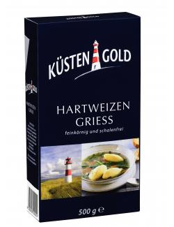 Küstengold Hartweizengrieß (500 g) - 4250426200201