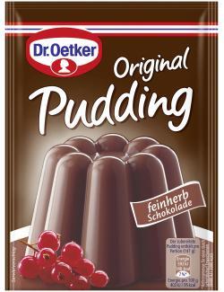 Dr. Oetker Original Pudding feinherbe Schokolade