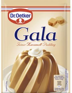 Dr. Oetker Gala Feiner Karamell-Pudding (3 St.) - 4000521224011