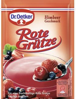 Dr. Oetker Rote Grütze Himbeer Geschmack