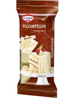 Dr. Oetker Kuvertüre weiß (150 g) - 4000521007249