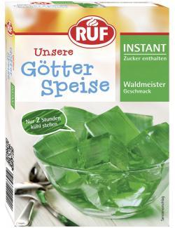 Ruf Unsere Götterspeise Instant Waldmeister Geschmack (100 g) - 40352404