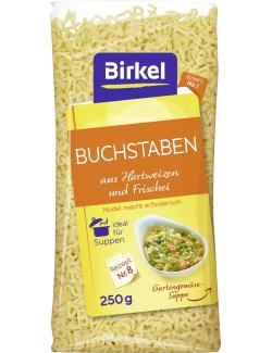 Birkel's No. 1 Buchstaben aus Hartweizen und Frischei (250 g) - 4002676210604
