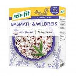 Reis-fit Basmati & Wildreis Kochbeutel