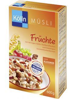 Kölln Müsli Früchte (600 g) - 4000540031485