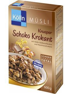 Kölln Müsli Knusper Schoko Krokant (600 g) - 4000540023589