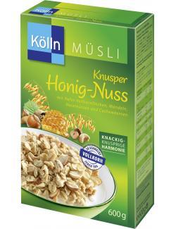 Kölln Müsli Knusper Honig-Nuss (500 g) - 4000540003161