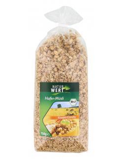NaturWert Bio Hafer-Müsli Knusper-Crunchy (750 g) - 4000446037543