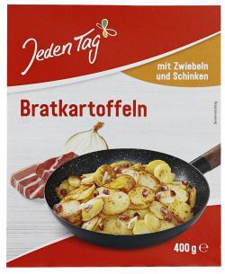 Jeden Tag Bratkartoffeln mit Schinken & Zwiebeln