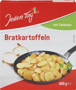 Jeden Tag Bratkartoffeln mit Zwiebeln