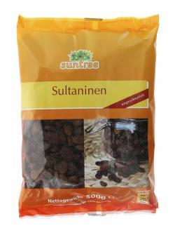 Suntree Sultaninen ungeschwefelt