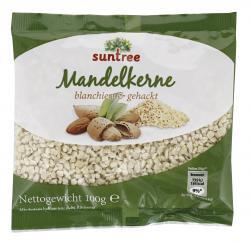 Suntree Kalifornische Mandelkerne gehackt