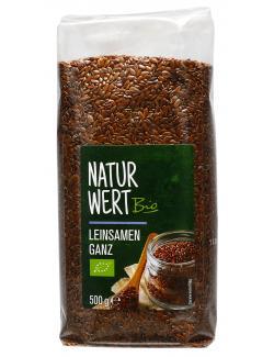 NaturWert Bio Leinsamen ganz
