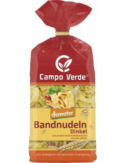 Demeter Campo Verde Bandnudeln Dinkel (500 g) - 4045178000113