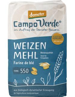 Campo Verde Demeter Weizenmehl Type 550