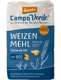 Campo Verde Demeter Weizenmehl Type 405