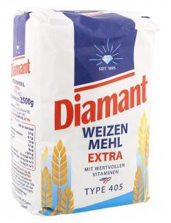 Diamant Weizenmehl Extra Typ 405 (2,50 kg) - 4008549045038