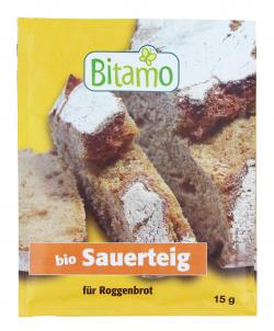Bitamo Bio Sauerteig für Roggenbrot (15 g) - 4011437032768