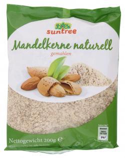 Suntree Mandelkerne naturell gemahlen