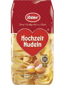 Zabler Hochzeit Nudeln Extrabreite Nudelnester